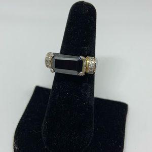Jewelry - Black Rectangle Ring